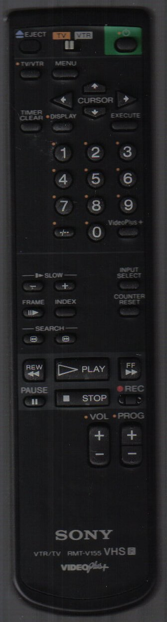 Sony RMT-V155 Remote