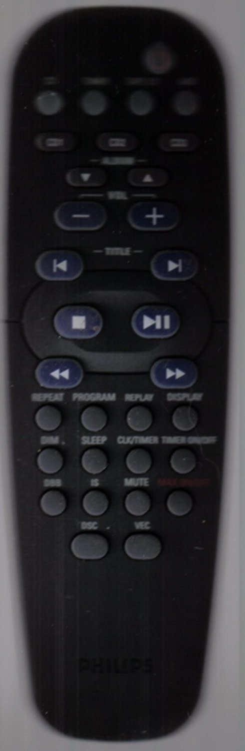 Philips RC19532005 Remote,Philips FW-M390/399 Remote
