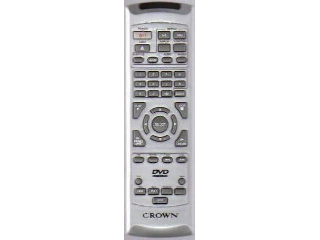 CROWN CDV1100B Remote,CROWN CDV-1100B Remote