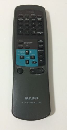 Aiwa RC-7AS08 Remote,Aiwa RC-7ASO8 Remote