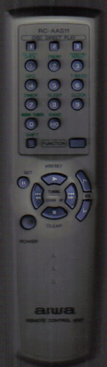 Aiwa RC-AAS11 Remote