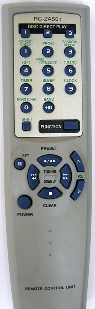Aiwa RC-ZASO1 Remote
