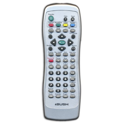 BUSH DVR3003XI Remote Control