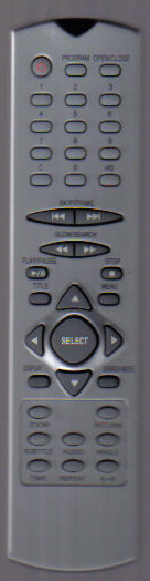 Bush/Alba Dvd Remote - Click Image to Close