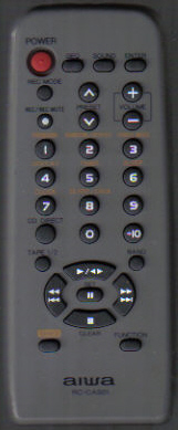 Aiwa RC-CAS01 Remote