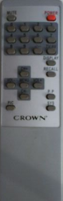 Crown CFT101 Remote,Crown CFT101 Remote Control