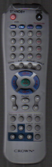 Crown Dvd Remote.