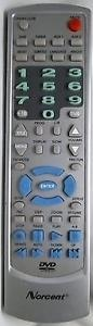 Crown KF-8999A Remote Control