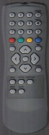 Daewoo DS608P Remote