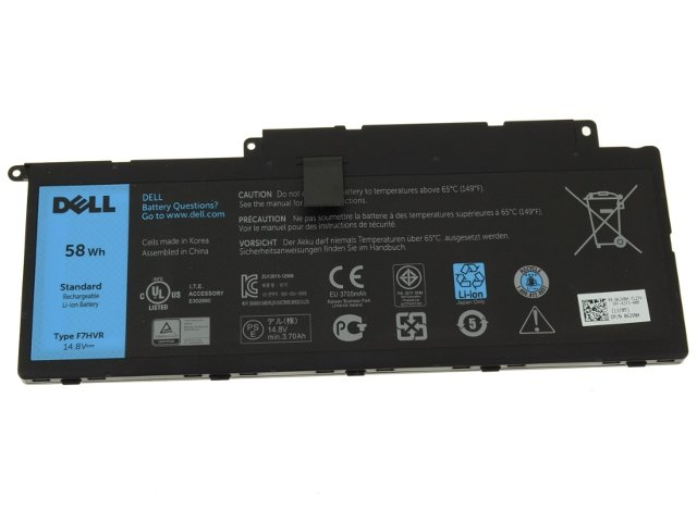 Dell F7HVR Battery,Original Dell F7HVR Battery, F7HVR Battery