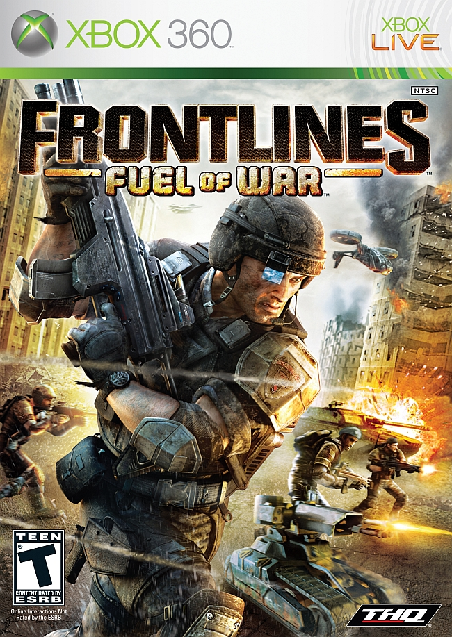 Frontliners Fuel Of War Xbox 360