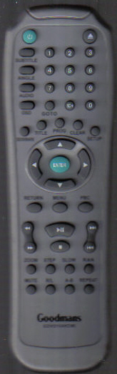 Goodmans GDVD164HDMI Remote