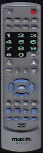 Maxim MX11-35 Remote