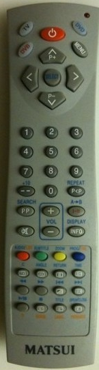 Matsui R03UM4AAA Remote Control