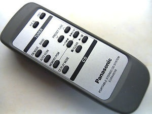 Panasonic EUR648258 Remote