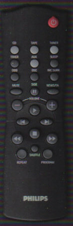 Philips RC282424/01 Remote
