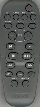 Philips 314011851061 Remote