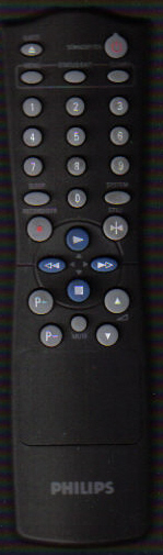 Philips Vcr Remote.
