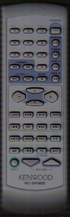 Kenwood RC-DV90E Remote