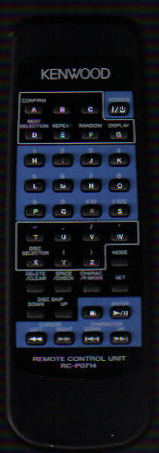 Kenwood RC-P0714 Remote