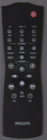 Philips RC282430/01 Remote