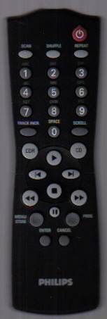 Philips RC282921/01 Remote Control