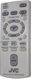 JVC RM-SUXN1R Remote - Click Image to Close