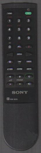 Sony RM-835 Remote Control