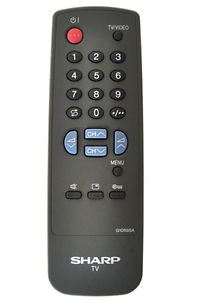 Sharp G1059SA Remote,Sharp G1059SA Remote Control.
