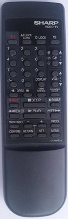 Sharp G1294PESA Remote