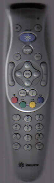 Virgin Media Cable Remote.