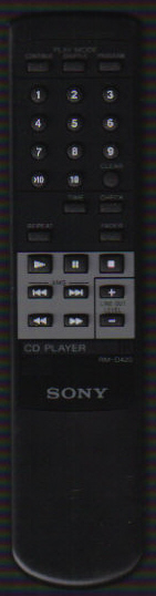 Sony RM-D420 Remote