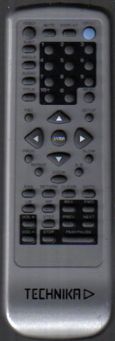 Technika Dvd Remote