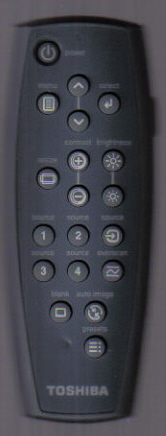 Toshiba TH165 Remote Control