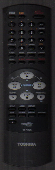 Toshiba VT-711UK Remote
