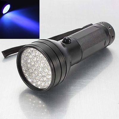 Ultraviolet 51 LED UV torch/flashlight