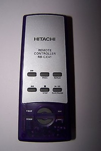 Hitachi RB-CX41 Remote,Hitachi RBCX41 Remote