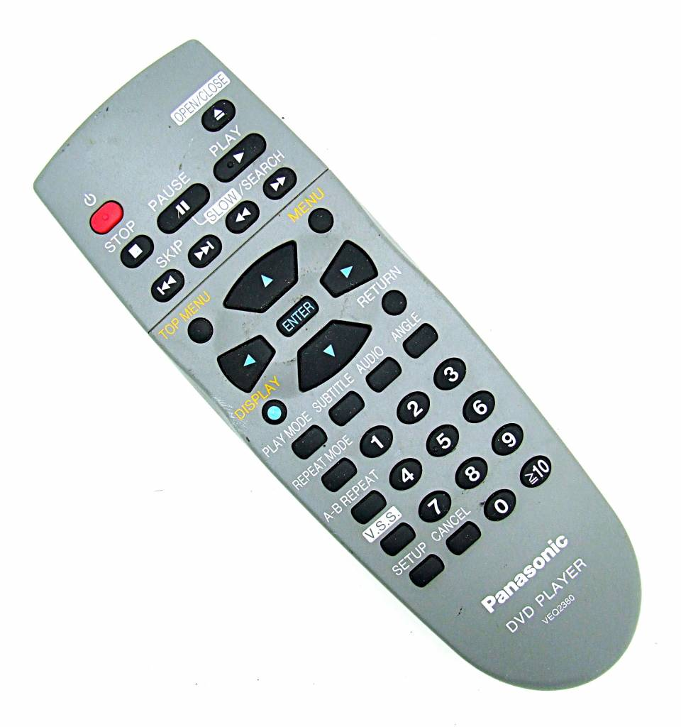 Panasonic VEQ2380 Remote