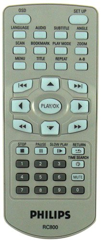 Philips RC800 Remote,Philips RC800 Remote Control.