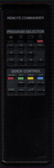 Sony Remote Commander